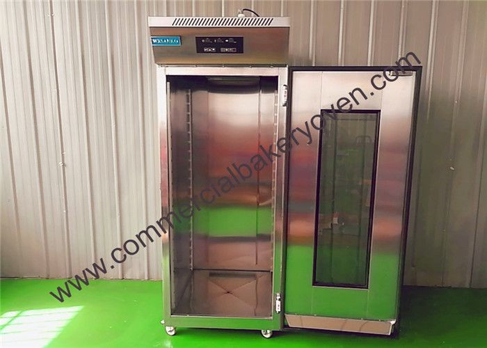 SS Single Door Bread Dough Proofer Energy Saving Fast Cooling Effect